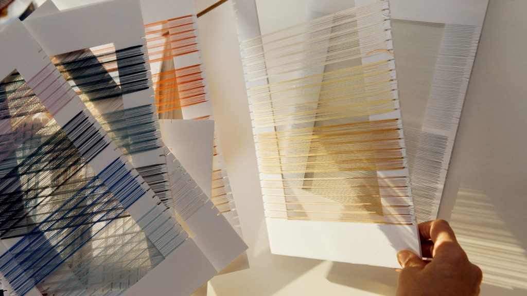 Doshi Levien designs Maya and Jaali fabrics for Kvadrat