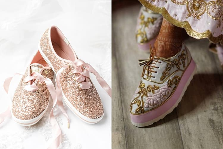 15 Bridal Sneakers To Wear On Your Wedding Day To Look More Stylish
